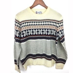 Vintage Alpine Sweater!